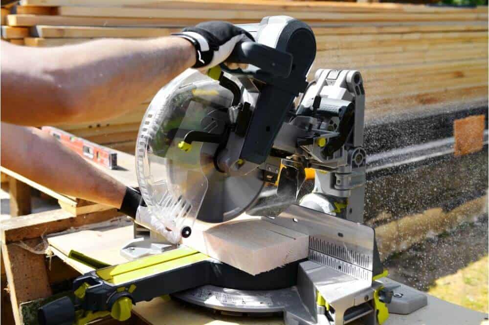 Ryobi ZRP551 18V Cordless Miter Saw with Laser