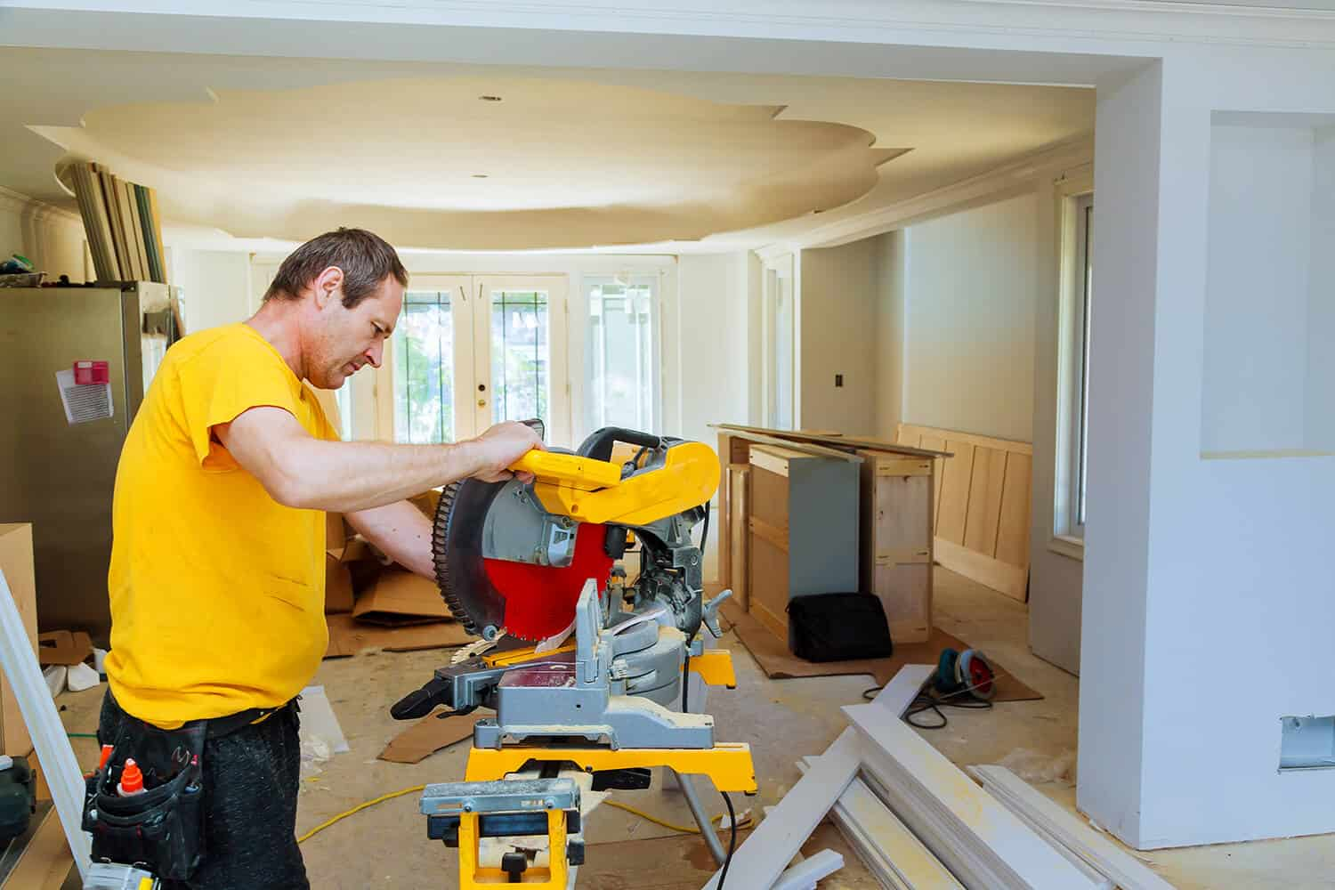 How to Cut Trim With a Miter Saw