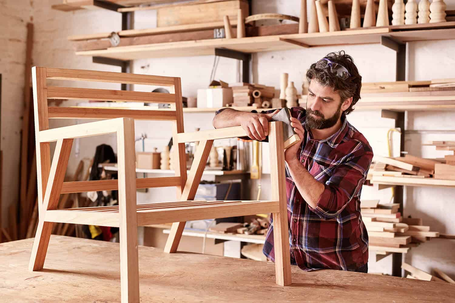 Building and selling wooden furniture online