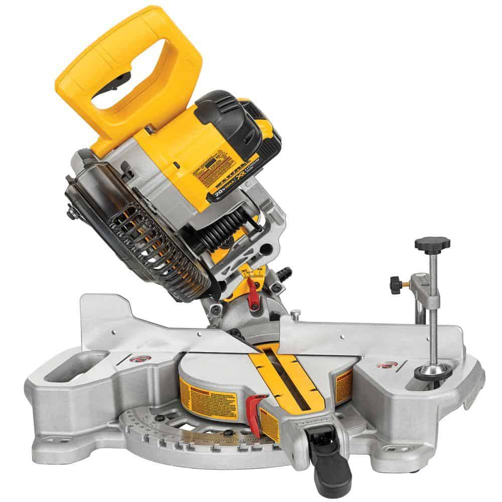 Dewalt DCS361B 20V Max Cordless Miter Saw Overview of Features