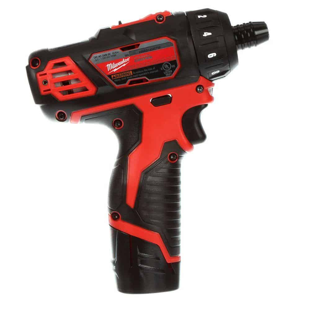 Milwaukee 2406-22 M12 14 2 Speed Driver Kit Review Overview and Features
