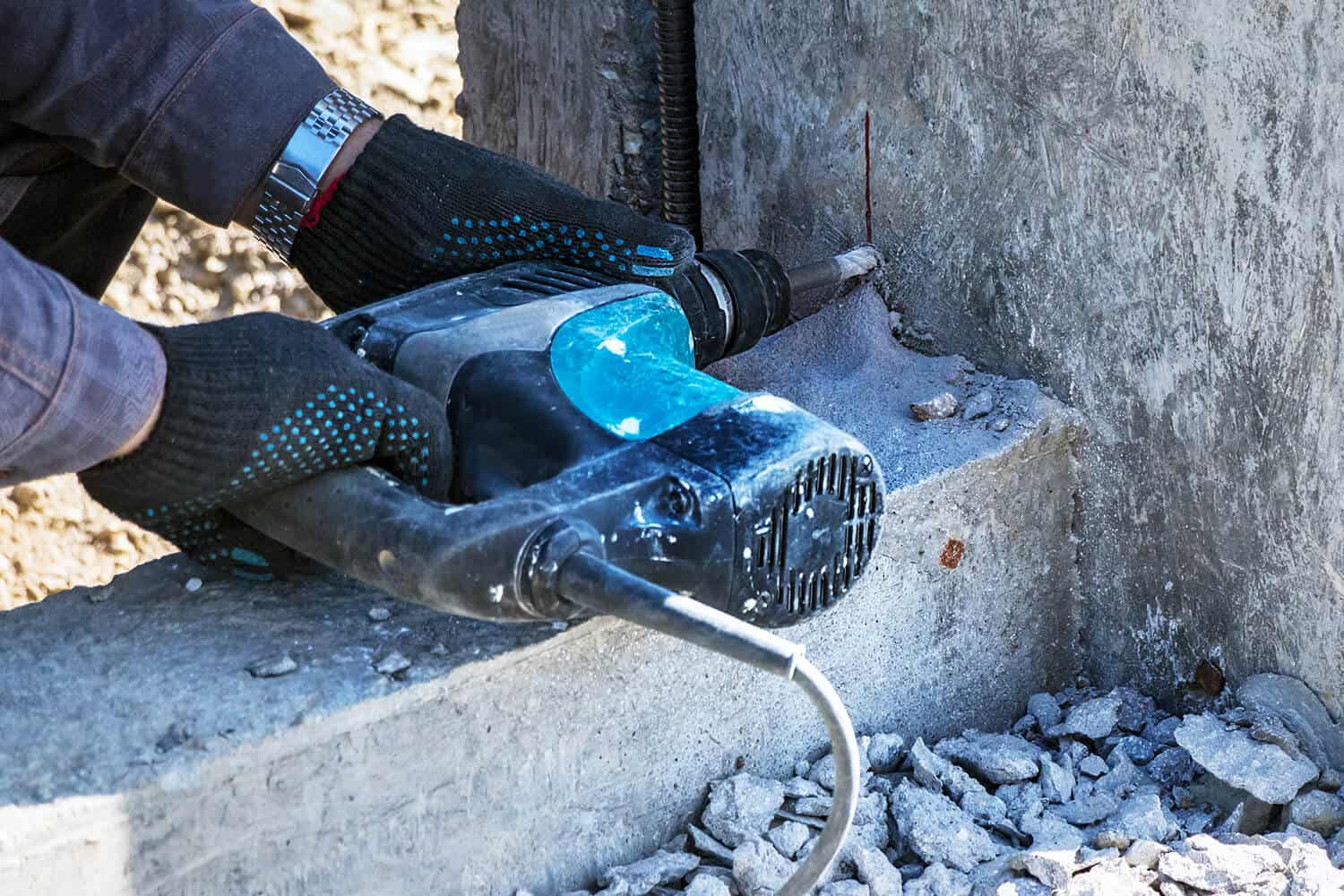 Will a Hammer Drill Go Through Concrete