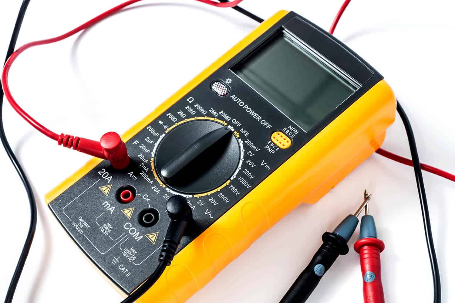 Check it With an Electrical Voltmeter or Multimeter
