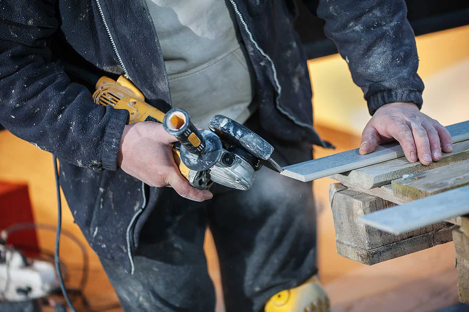Things to Consider When Cutting Tiles With an Angle Grinder