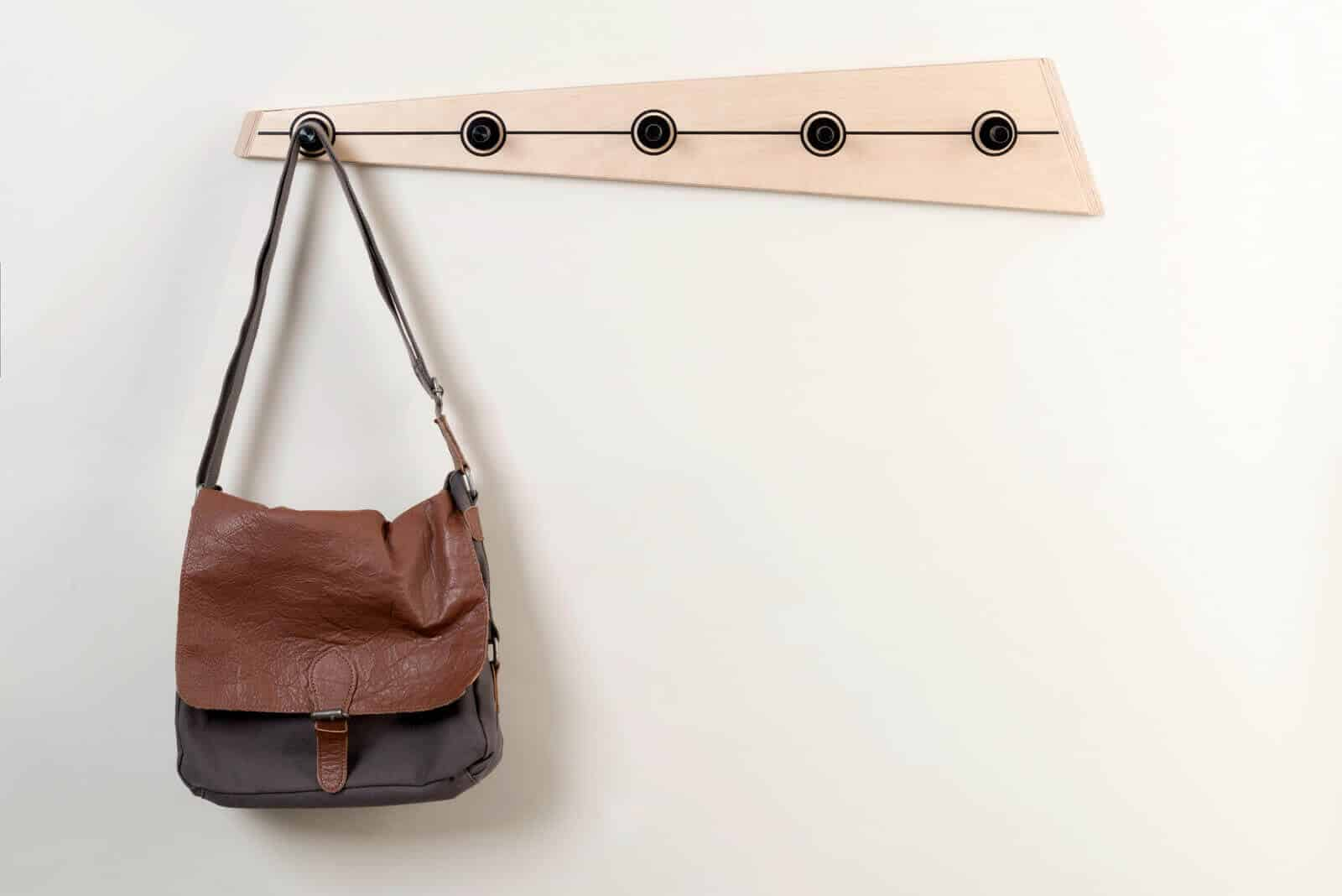 DIY handbag and Coat Rack