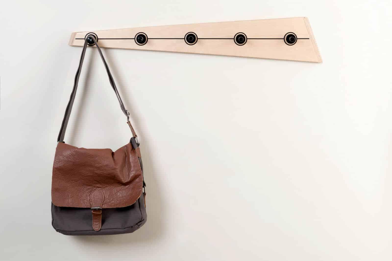 DIY handbag and Coat Rack
