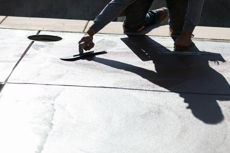 How do You Smooth a Rough Concrete Patio