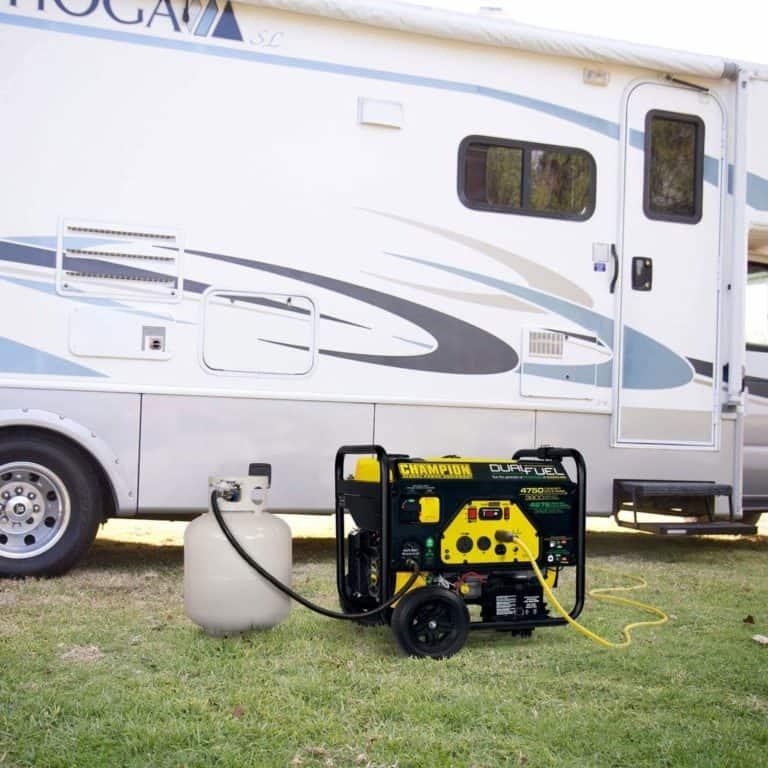 Champion 3800-Watt Dual Fuel RV Ready Portable Generator Review