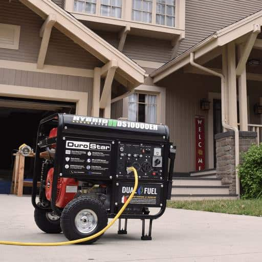 Durostar DS10000EH Dual Fuel Portable Generator Review