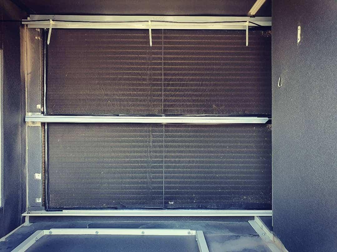 Blocked Evaporator Coil or Dirty Return Air Filters