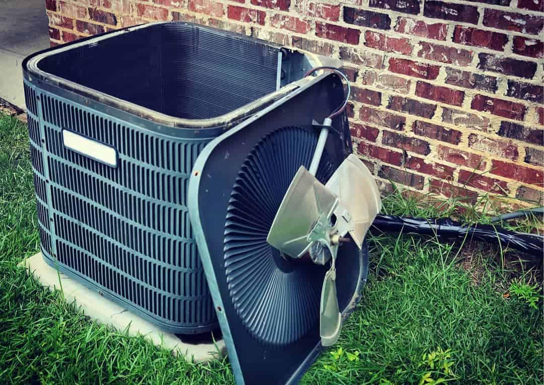 Burnt Out or Seized Condenser Fan Motor