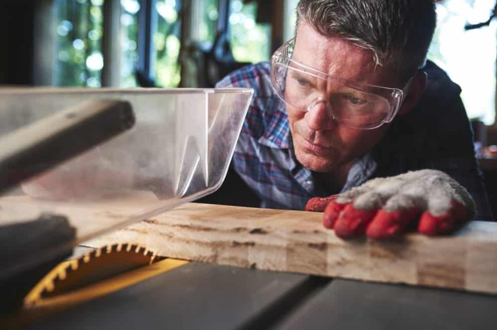 How to use a table saw safely