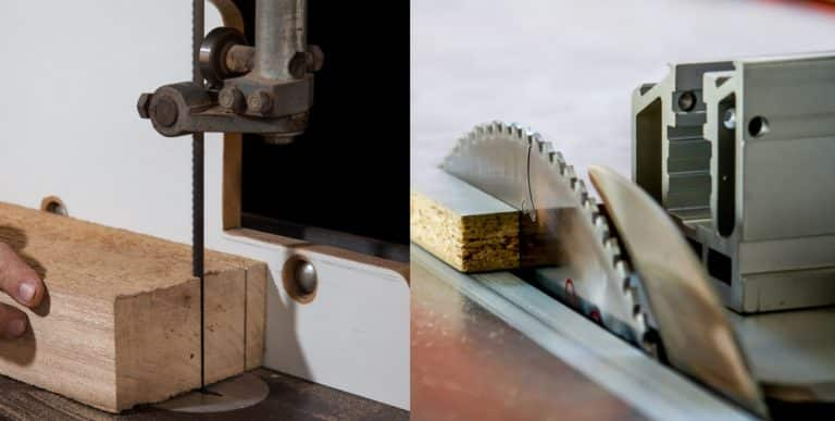 Table Saw vs Band Saw: Which Is Better?