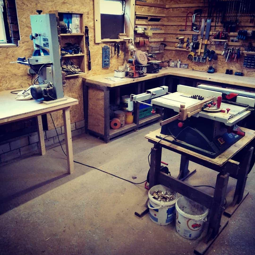 Space Considerations When Using a Table Saw