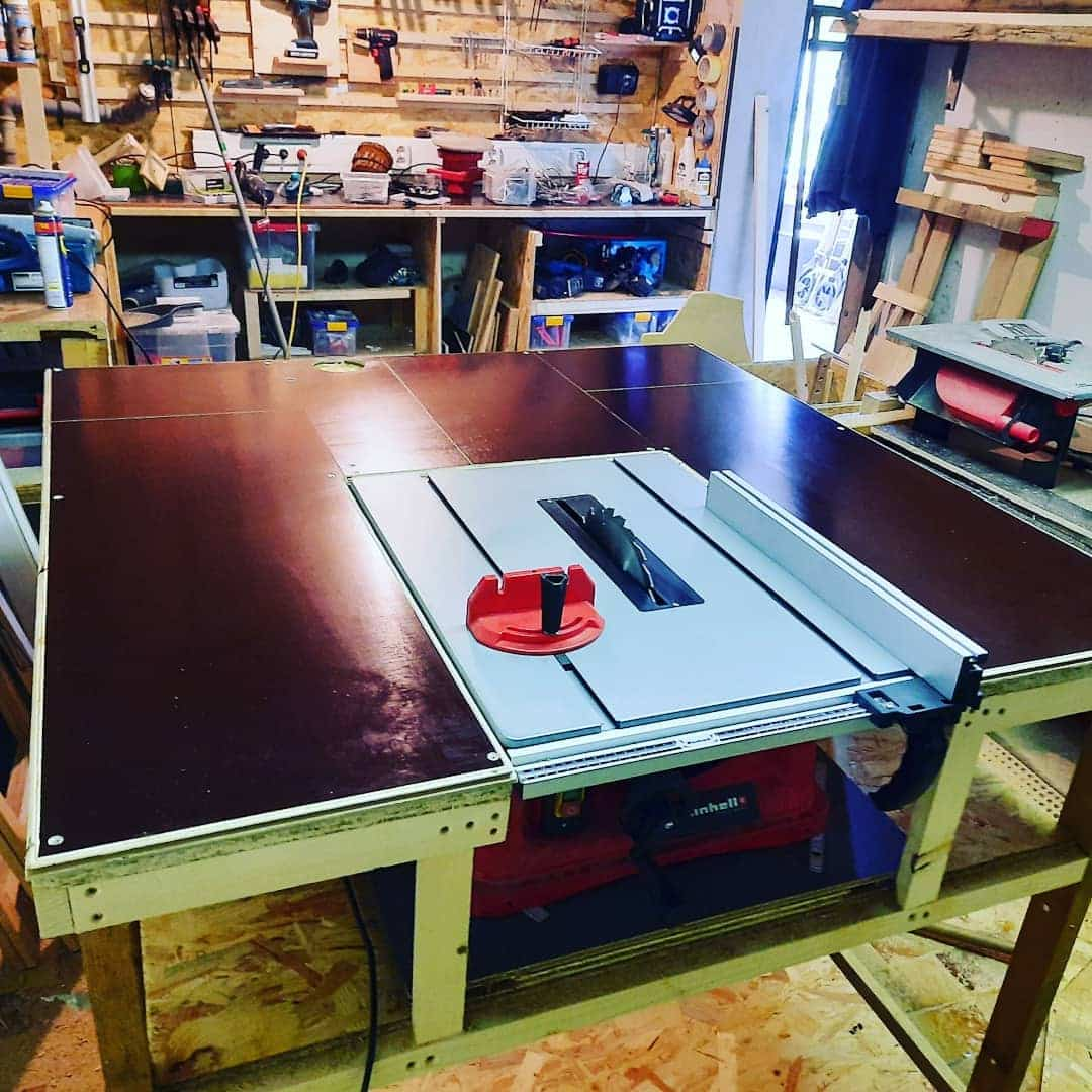 What Does the RIP Capacity of a Table Saw Mean