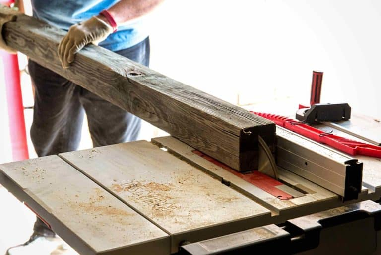 What is Rip Capacity on a Table Saw?