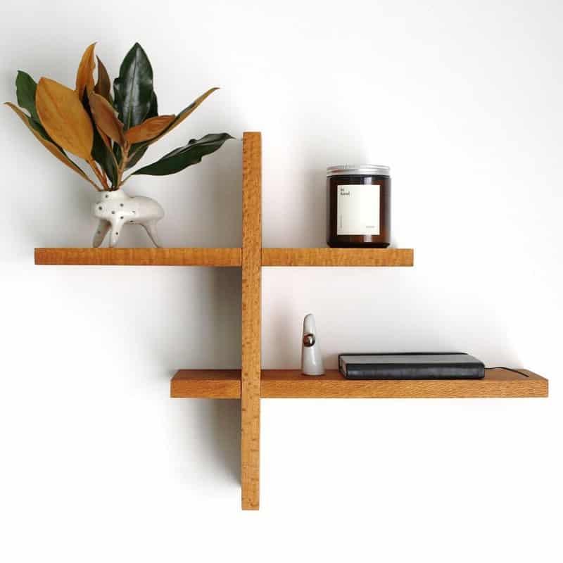 Cedar Wood Shelves