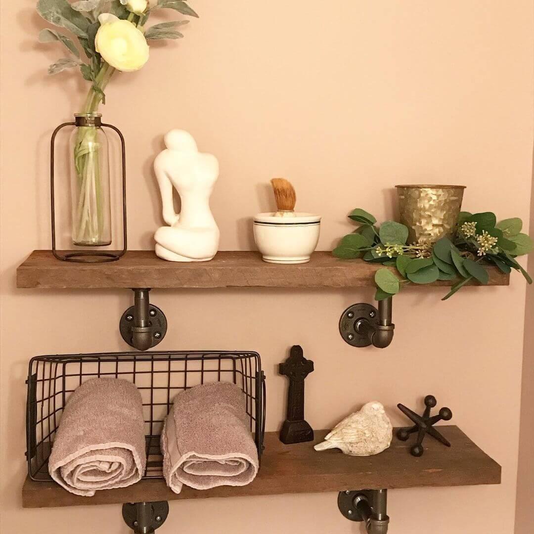 Cherry Wood Shelves