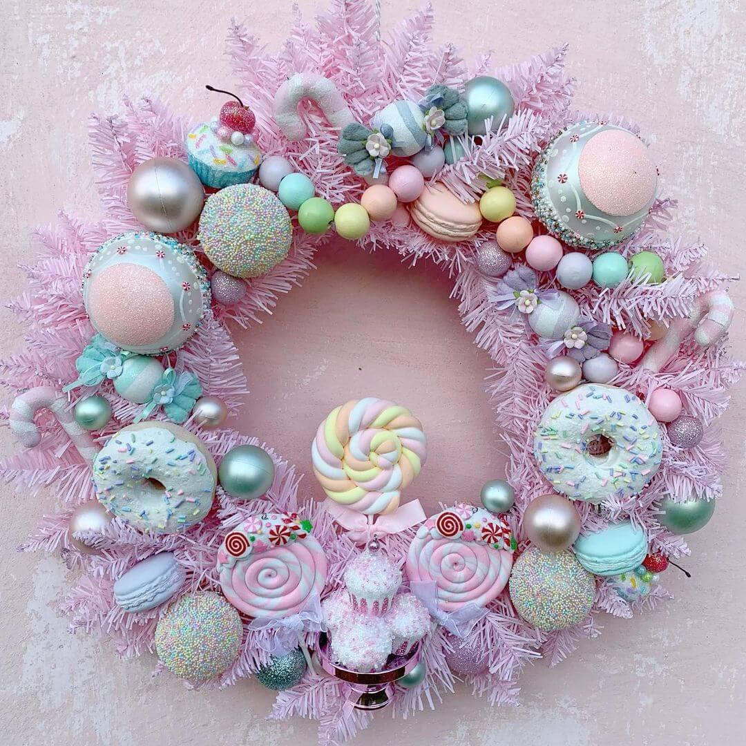 DIY Candy Wreaths