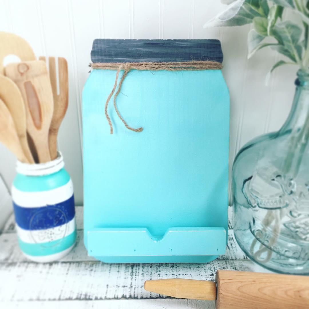 DIY Cookbook Holder