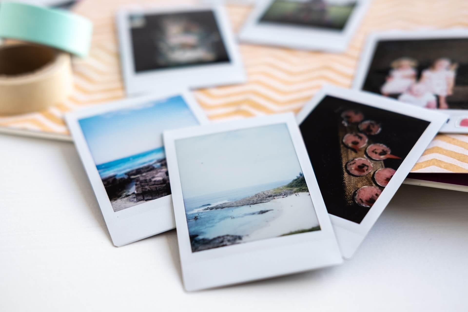 DIY Polaroid Collages