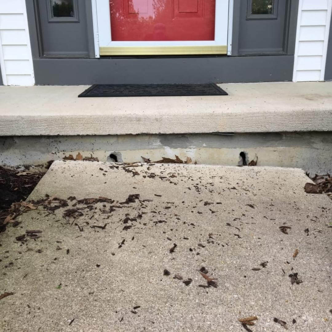 How to Raise Concrete Slab