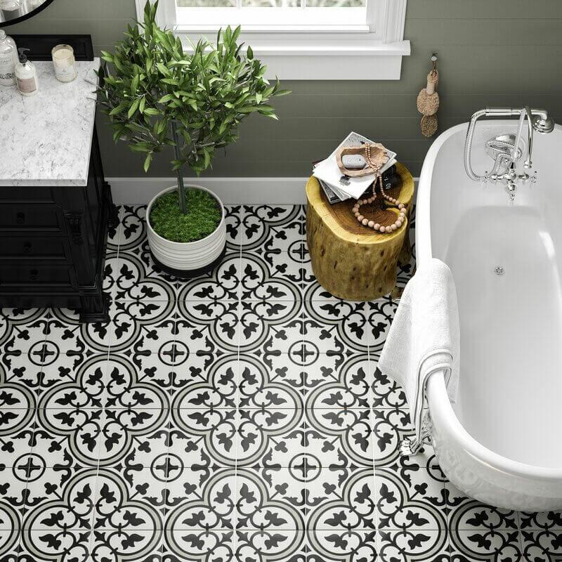 Artea Porcelain Patterned Floor Tile