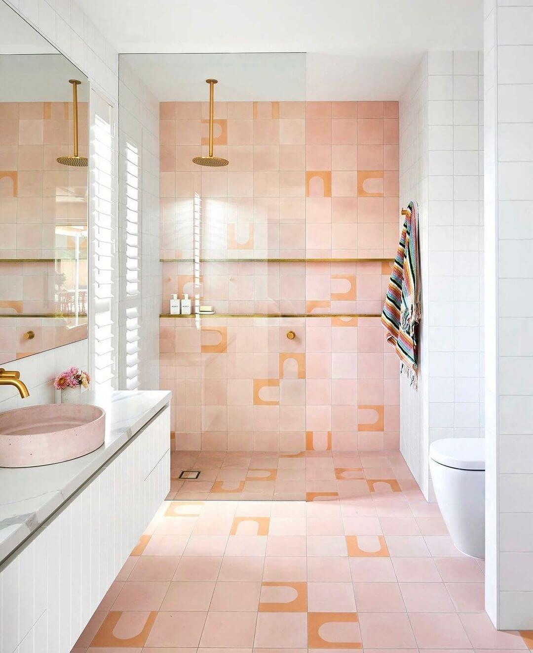 Bangalow Round Encaustic Tile