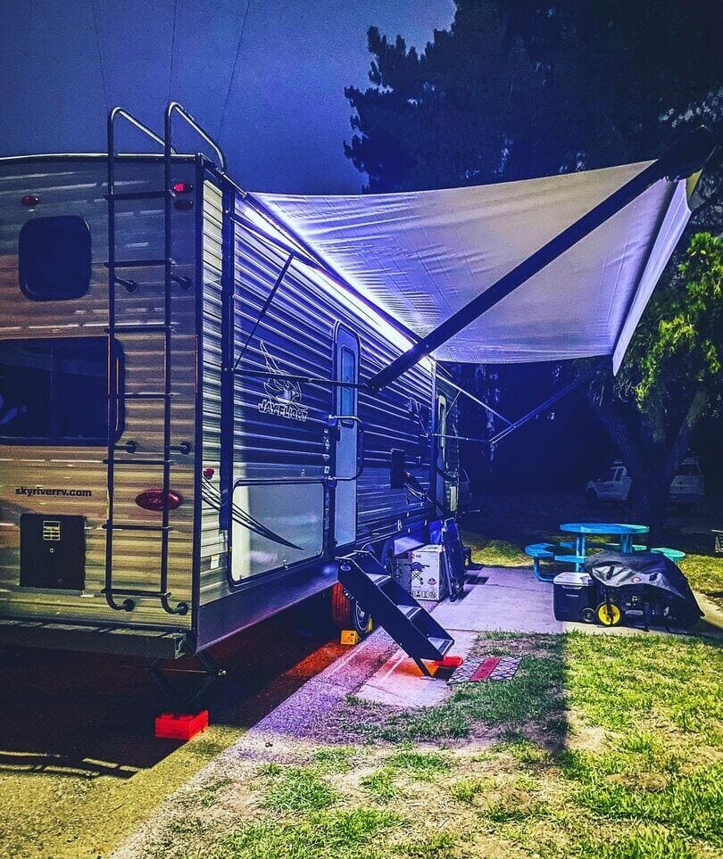 How Much Electricity Does a Camper Use