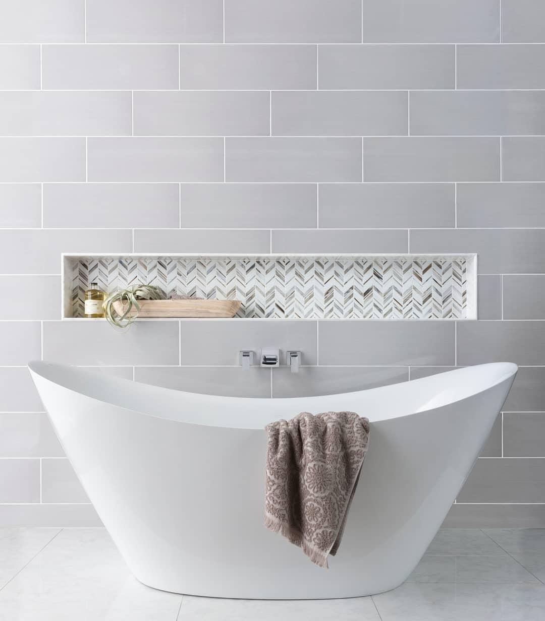 Marta Gris Ceramic Wall Tile