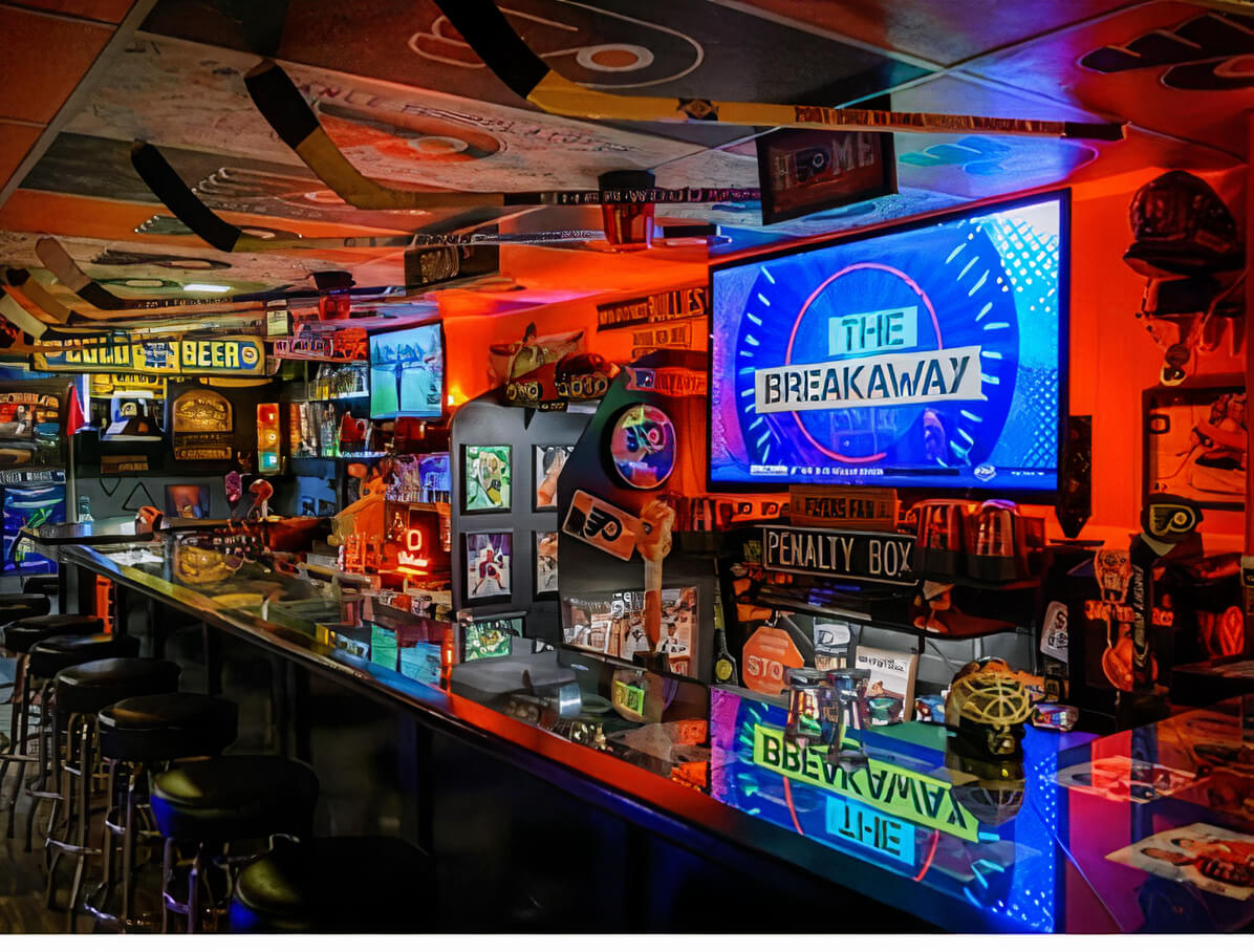 Backyard Sports Bar