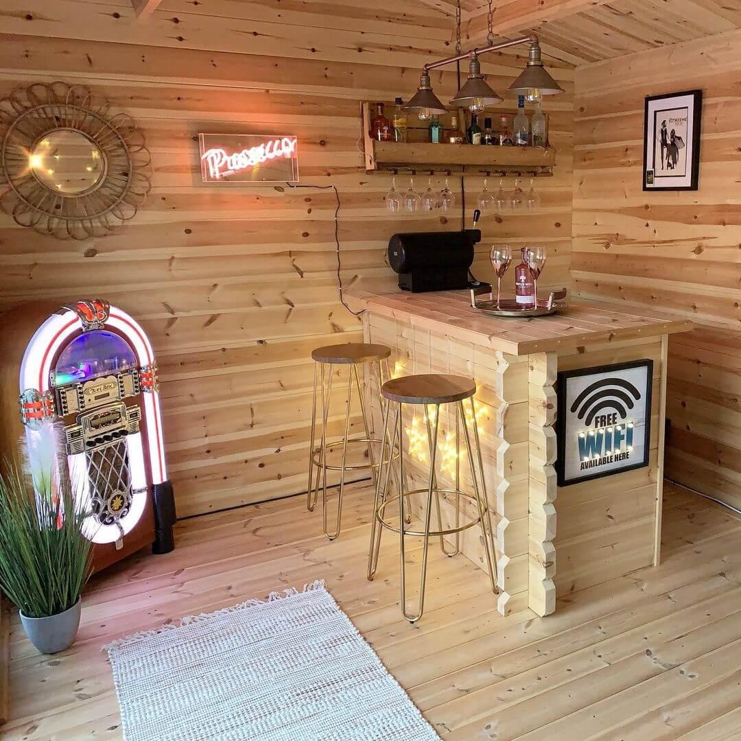 DIY Home Bar Design