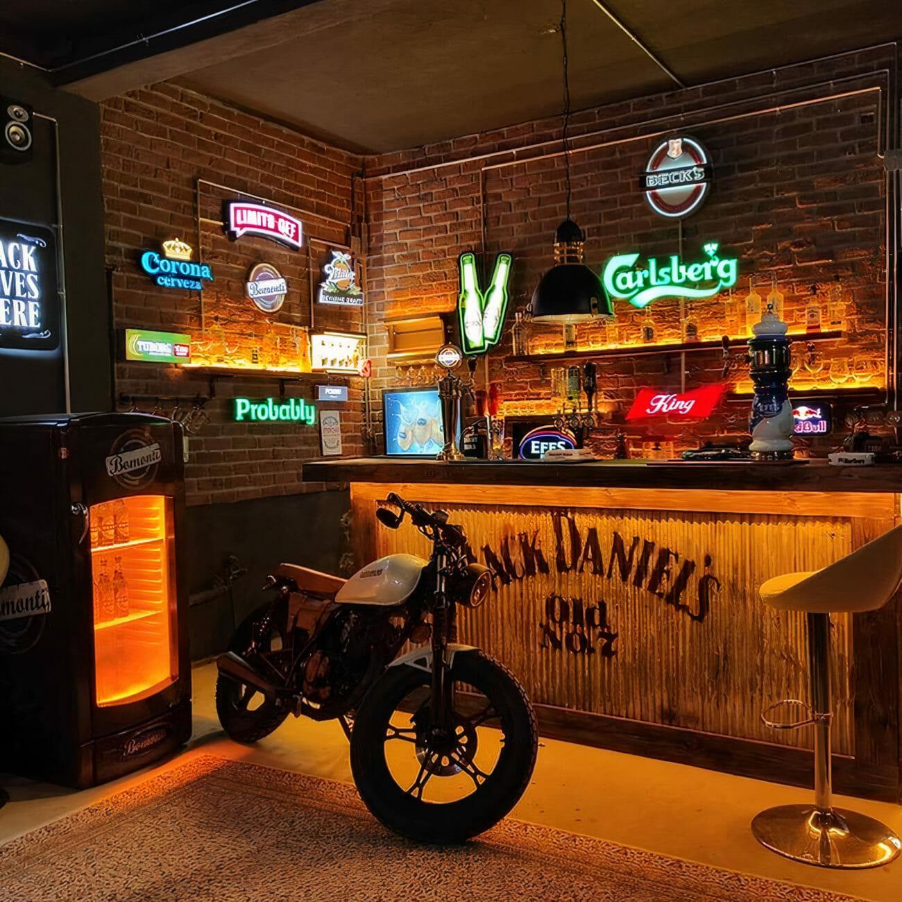 Man Cave Pub Shed