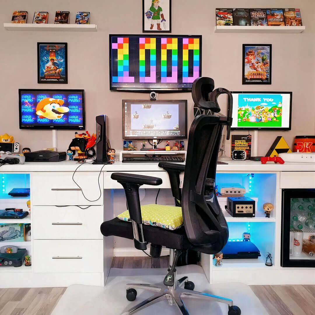 Arcade-Theme Gaming Setup