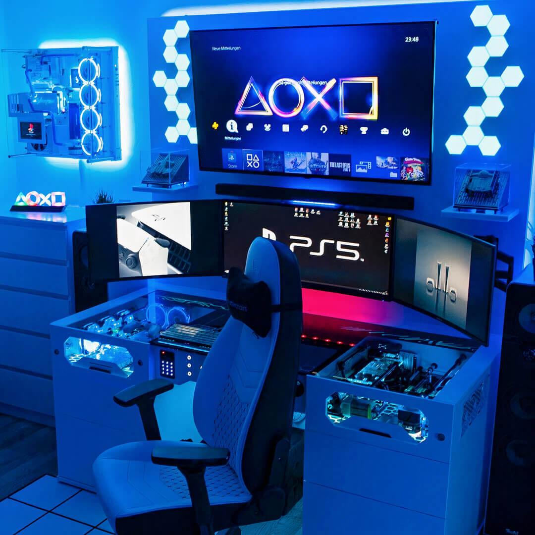 Console Gaming Setup