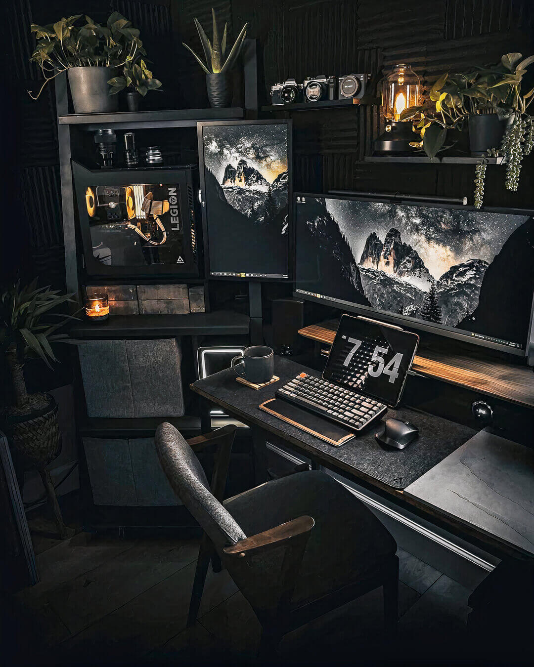 Home Office Gaming Setup