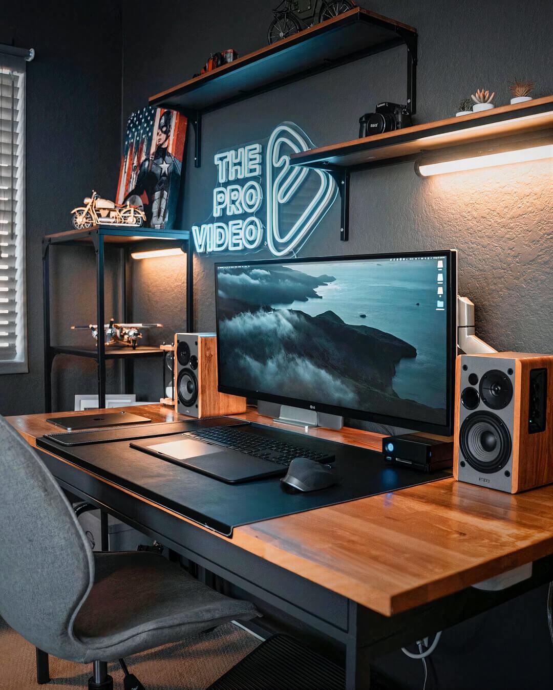 Rustic Gaming Room