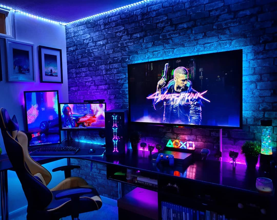 Luxury Gaming Room