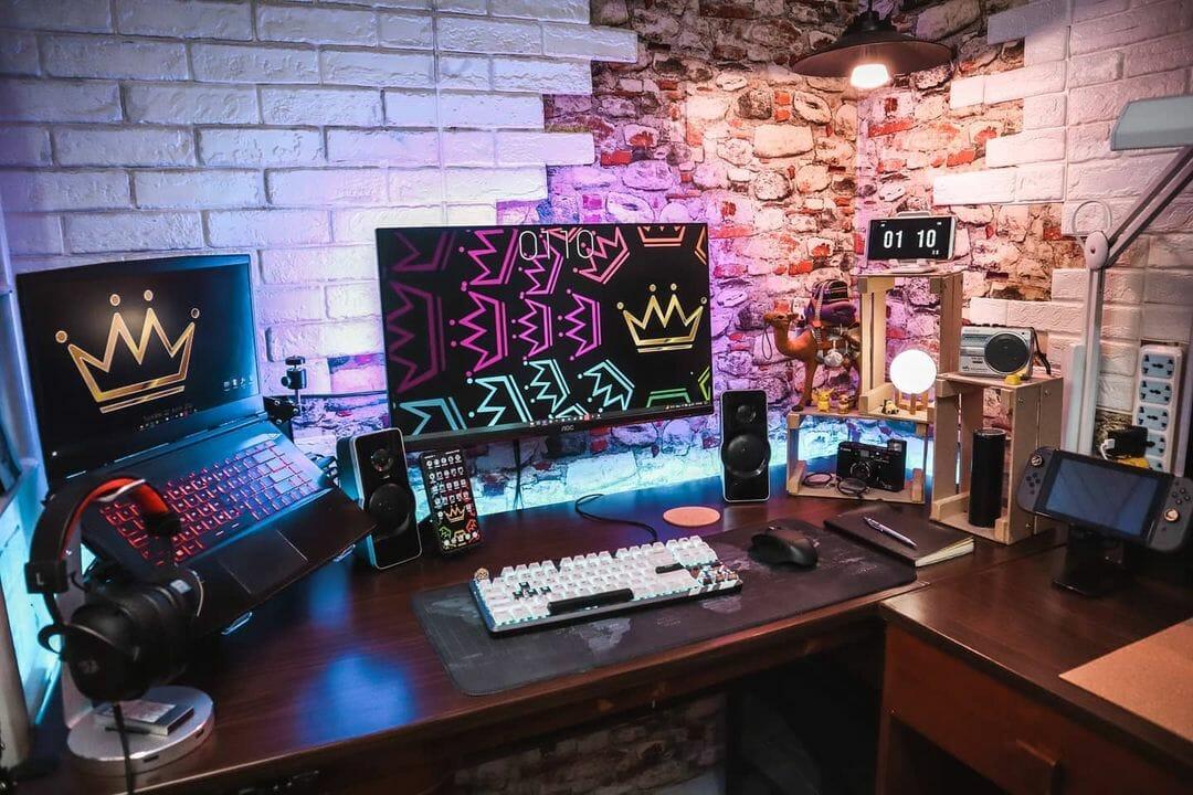 Shed Gaming-Room Setup